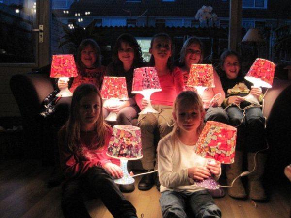 Lampjes pimpen DIY kids