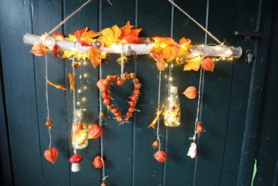 Raam hanger decoratie DIY