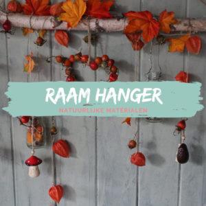 Raam hanger herfst DIY