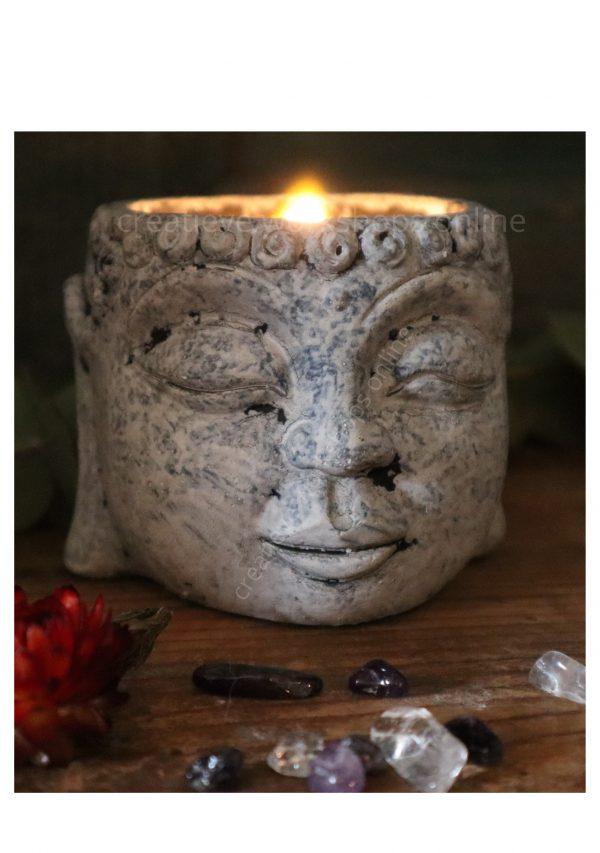 Buddha kaarsjes DIY