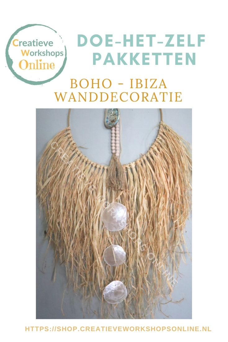 Boho ibiza wanddecoratie