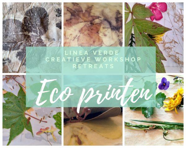 ecoprinten creatieve workshop retreat